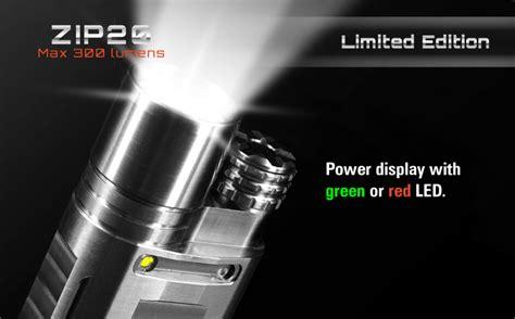 Niteye Zip20 Ti Senter Led Cree Xm L U2 300 Lumens niteye zip20 titanium xm l u2 300lumen 4modes led flashlight us 279 99 sold out