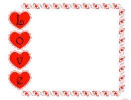 free printable valentine stationary borders 9 best images of free printable valentine s day borders