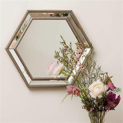 Hexagon Bevelled Mirror 10pcs 1 10 espejos vintage para una decoraci 243 n de 233 poca