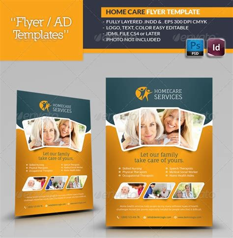 Free Nursing Flyer Templates