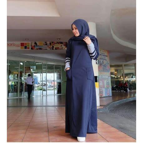 Larisa Dress Gamis larisa navy baju muslim gamis modern