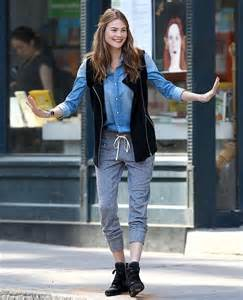 Angel in the city behati prinsloo lets her legs do the talking as she