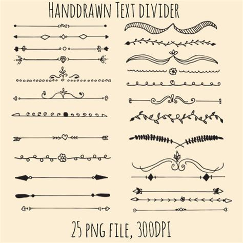design dividers font imagen de beutiful draw and underline pretty fonts and
