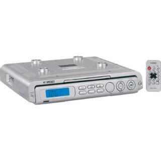 sylvania under cabinet cd clock radio sony icf cdk50 under cabinet kitchen cd player am fm clock