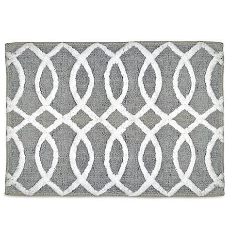 grey and white bathroom rugs huntley bath rug bed bath beyond
