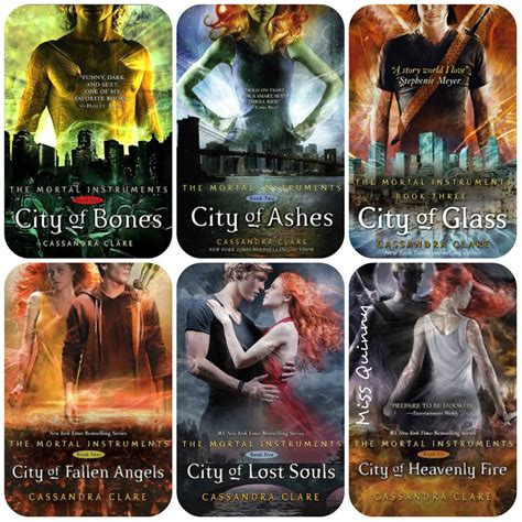 The Mortal Instruments 1 5 By Clare the mortal instruments series 1 6 by clare