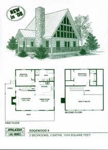 Simple Cabin Plans With Loft Log Home Floor Plans American Small House Plans Wloft