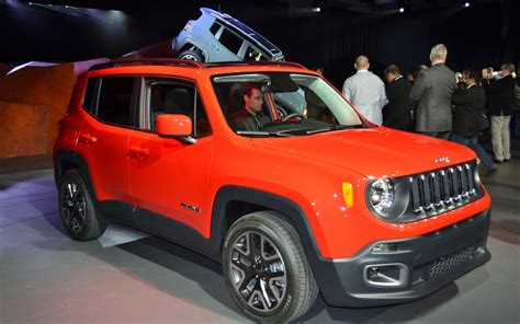 jeep lineup 2015 all new 2015 jeep renegade most capable small suv expands