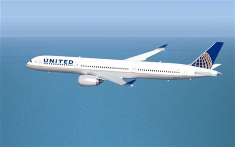 United Airlines American Airlines by United Airlines Airbus A350 1000 V4 For Fsx