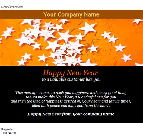 new year greeting email email templates cards new year greeting