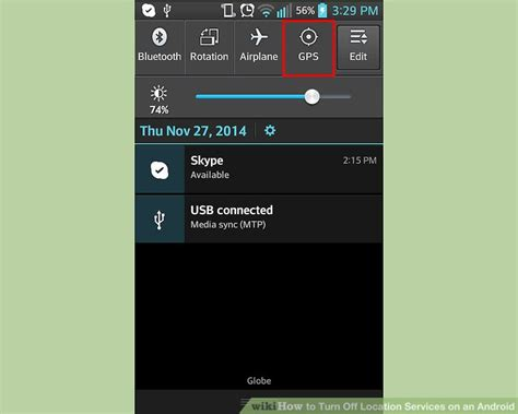enable location services android how to turn location services on an android 6 steps