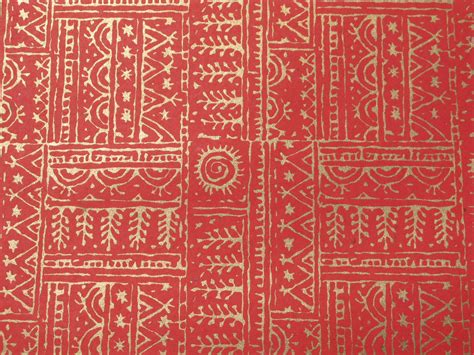Handmade Paper India - block printed handmade paper crafts