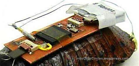 membuat robot kecoa kecoa berhasil dibuat menjadi robot cyborg bio robotik
