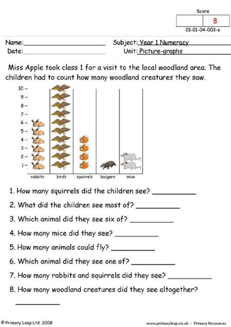 maths data handling worksheets year 2 how it works