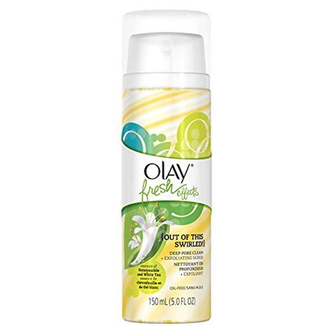 Olay Fresh Effect olay fresh effects out of this swirled pore clean plus exfoliating scrub essence of