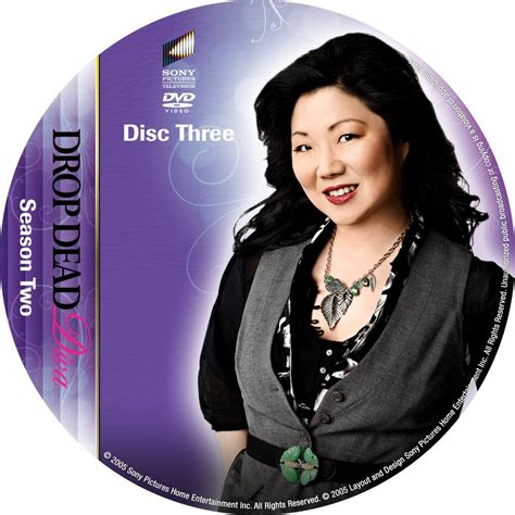 drop dead seasons drop dead season 2 disc 3 custom dvd labels drop