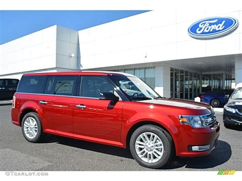 ford car colors 2016 ruby ford flex sel 111927470 gtcarlot