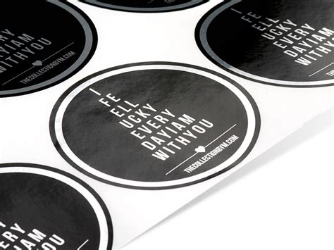 printable metallic stickers silver foil foil stickers and labels inkable