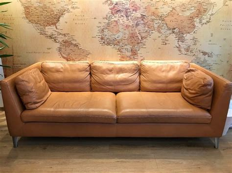 Stockholm Sofa Ikea by Ikea Stockholm Real Leather Sofa Bargain In Meadowbank