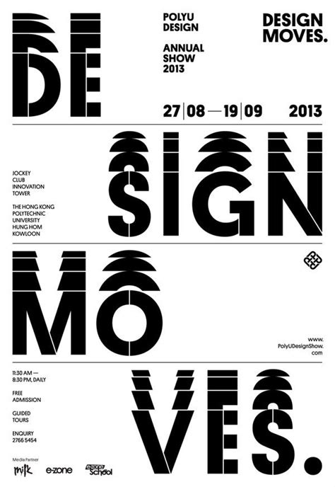 design poster type 80 best poster typography and covers images on pinterest