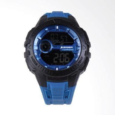 Jam Tangan Eiger 3367 Makalo Wacth jual eiger makalo watches jam tangan pria black blue