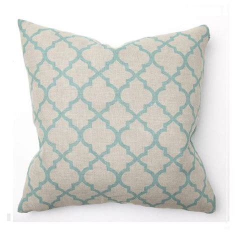 Turquoise Living Room Pillows Illu Tile Print Turquoise Living Room