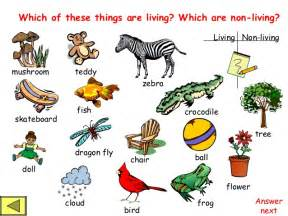 science worksheets for grade 1 living and nonliving things