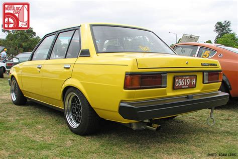 yellow toyota corolla events classic japan 2012 part 03 modified classics