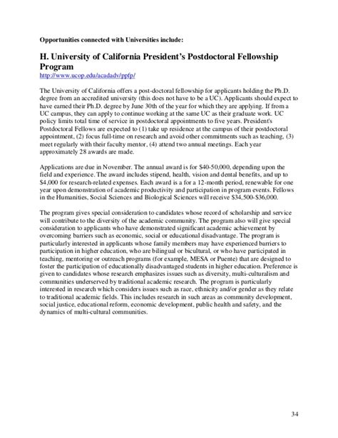 Postdoctoral Research Template Cover Letter Template Postdoctoral