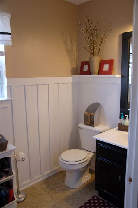 bathroom molding ideas she s crafty molding bathroom ideas