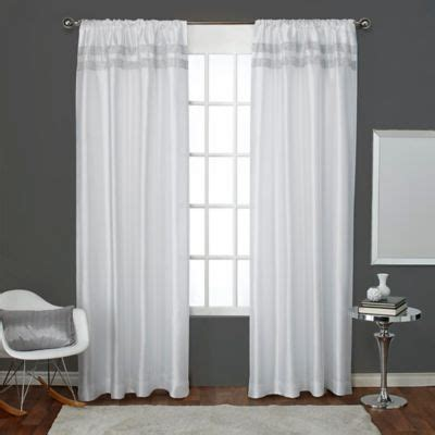 Winter Window Curtains Buy Winter Window Treatments From Bed Bath Beyond