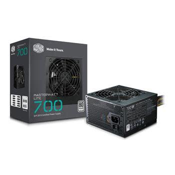 special offer cooler master masterwatt lite v2 700 watt 80 psu power supply ln86874 mpx