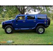 2006 Hummer H2 SUV Pacific Blue / Ebony Photo 8  DealerRevscom