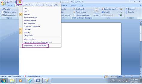 barra superior word tutoriales de soporte como ocultar y mostrar la barra de