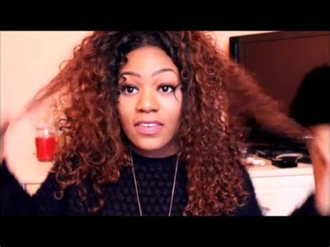 curly hair dry mid forties how i revive dry curly hair weave tutorial miss nicki x