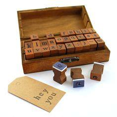 rubber alphabet st set wooden rubber st set alphabet st set vintage