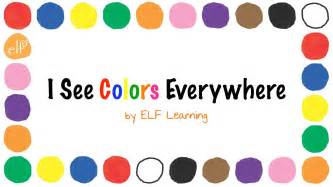 color song the colors song by learning color songs for