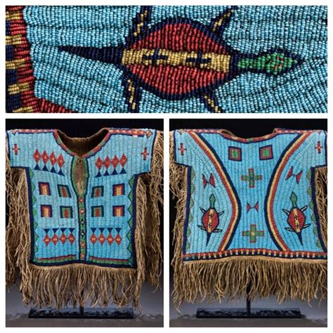 beadwork for kids beaded child shirt sioux
