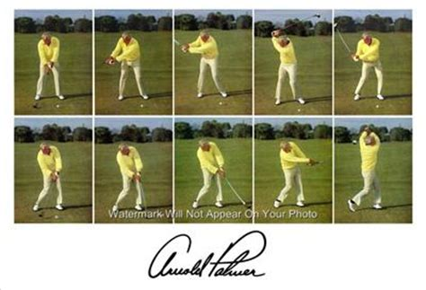 arnold palmer golf swing arnold palmer sequence golf swing photo wonderful large ebay