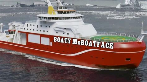 boaty mcboatface boaty mcboatface wins poll for public naming vessel bbc news