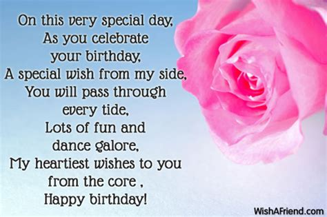 Happy Birthday Poems From by Happy Birthday Poems