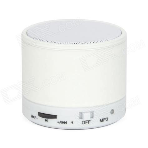 Speker Blutooth Su10 s10 bluetooth v3 0 2 channel 3w speaker w tf card slot white free shipping