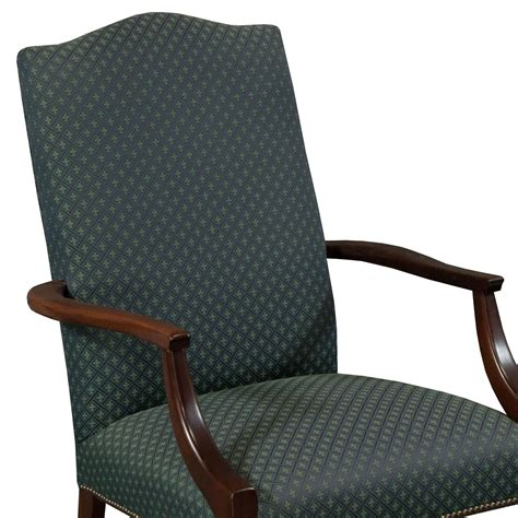 St Timothy Chair by St Timothy Traditional Used Side Chair Blue Pattern