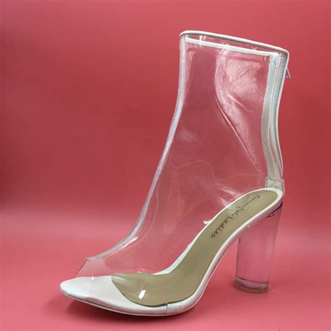 clear shoes clear plastic high heels promotion shop for promotional