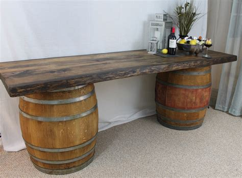 Wine Barrel Bar Table Wine Barrel Table The Cinquecento Project
