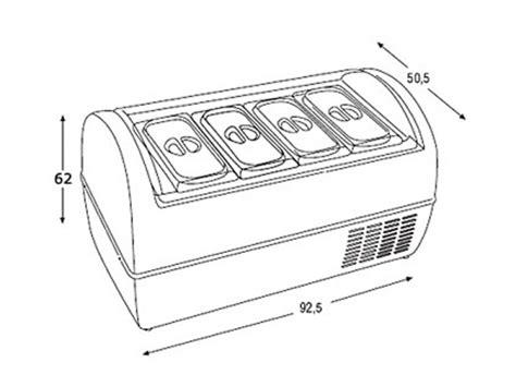 mantecatori da banco vetrina gelato da banco mod baby attrezzature per bar e