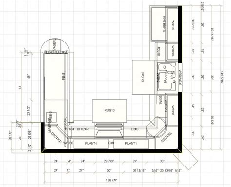 how to design a kitchen floor plan 39 best kitchen floor plans images on pinterest floors