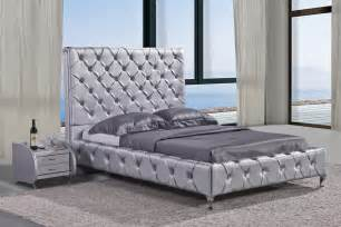 Crystal Tufted Bed Duplo High Headboard Crystal Tufted Bed