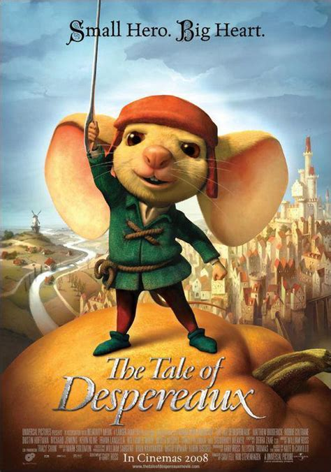 libro tale of despereaux being el valiente despereaux 2008 filmaffinity