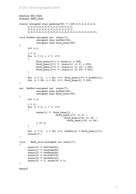 cryptography tutorial cryptography source library md5 source code
